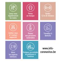 Comité de concertation lié au COVID-19 - pas d'assouplissement, mais des règles durcies en matière de voyages et un contrôle strict du télétravail