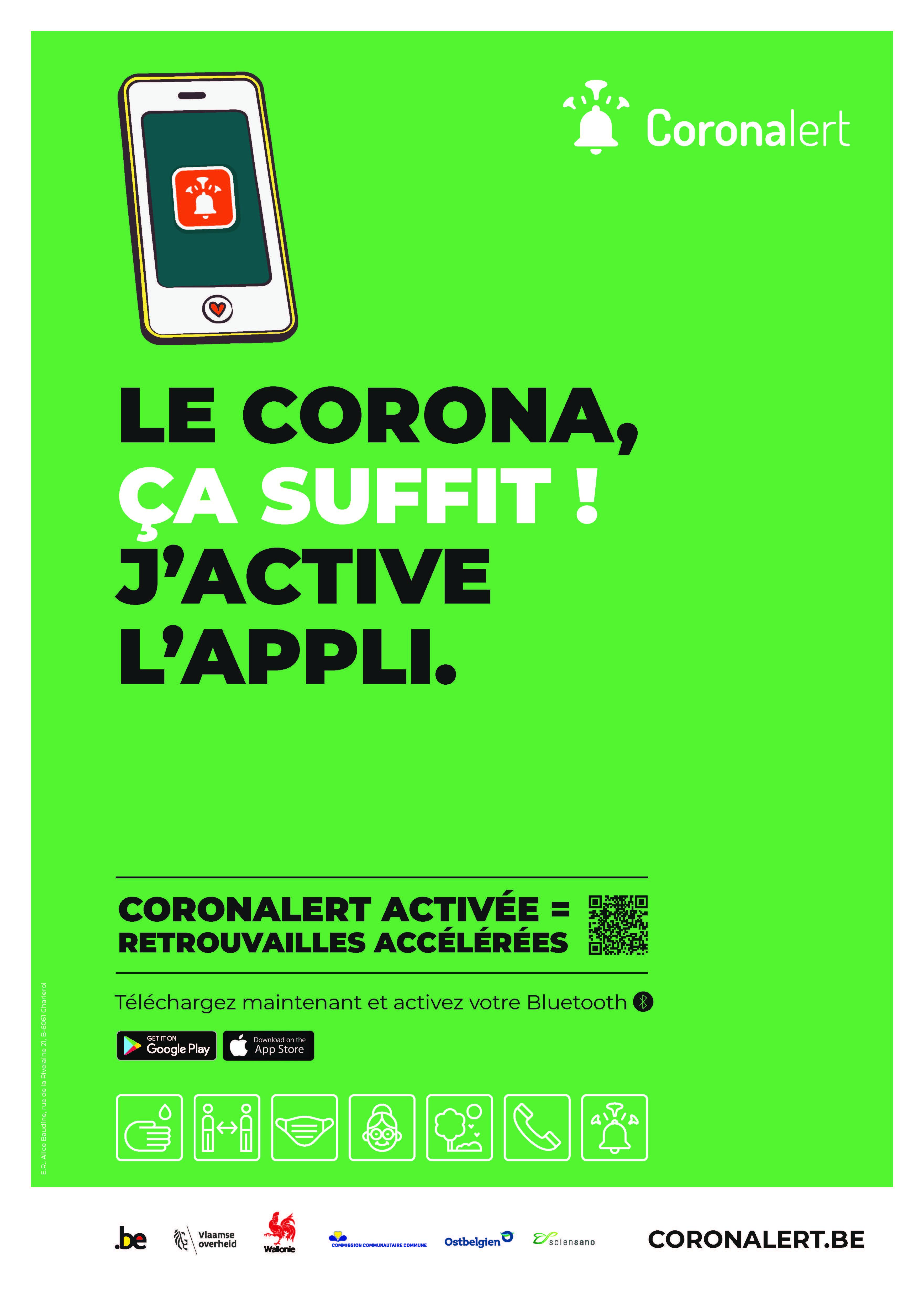 Coronalert : une appli pour enrayer au plus tôt la propagation du Coronavirus