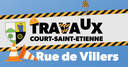 Fermeture de la rue de Villers le 4 août