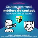 """Soutien communal aux """"métiers de contact"""""""