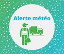 Alerte météo : collectes des déchets
