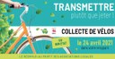 Collecte de vélos au recyparc ce samedi 24 avril