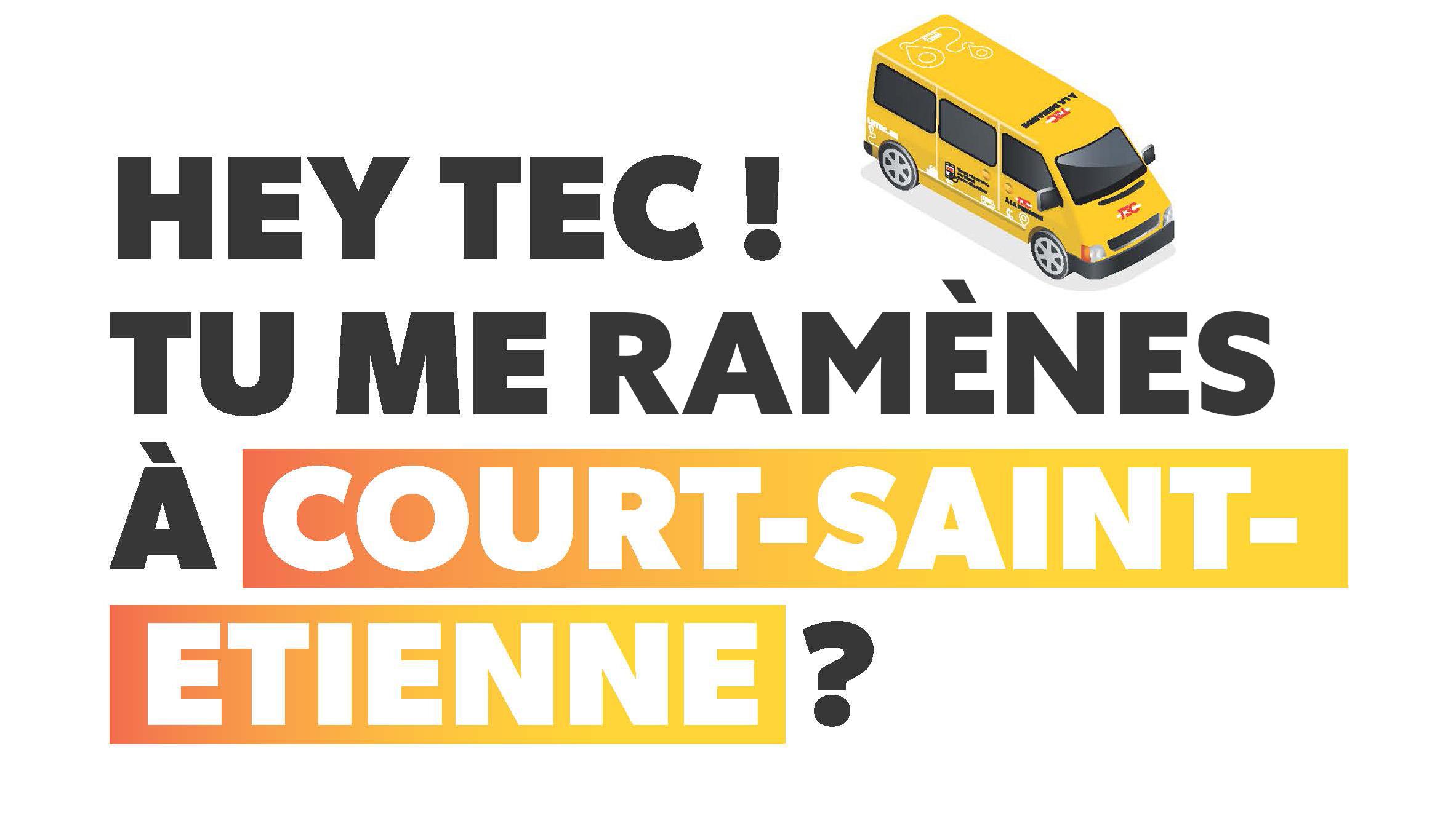 TEC à la demande vers et depuis Louvain-la-Neuve : vous réservez, on vient vous chercher !