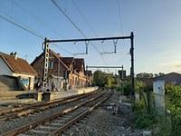 Travaux SNCB à la gare du Centre du 15 au 17 avril