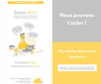 """""""Zoom 18/25"""" : un soutien pour tous les jeunes et les étudiants touchés par la crise"""